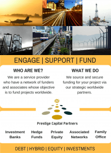 project finance, engage, support, fund