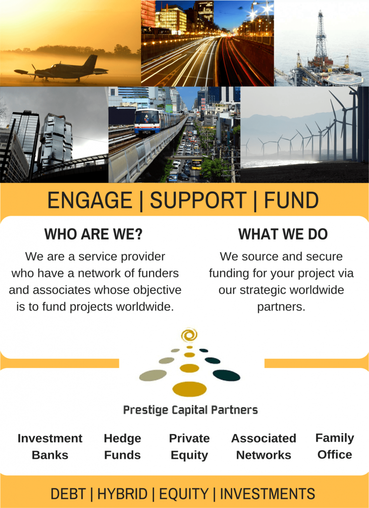 Project finance services - information for startup businesses and scaling up a business for growth and expansion.